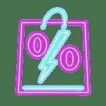 cart bag percent sales