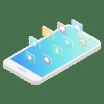 mobile design social media